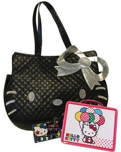 Hello Kitty Tote in Black