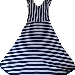 Navy & White Maxi Dress by Gap