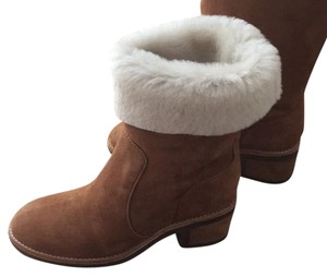 Vince Camuto Shearling tan Boots