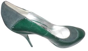 Anthropologie green Pumps