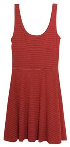 Aqua short dress Coral on Tradesy