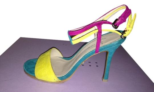 Donald J. Pliner Multicolor Pumps