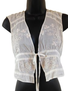 Gilly Hicks Top White