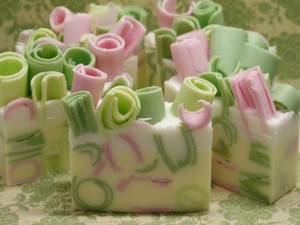 Where's The Party? Glycerine & Goat Milk Soap (rosemary Grapefruit Lime)