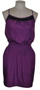 BCBGeneration short dress Violet Racer-back Date Night Resort on Tradesy