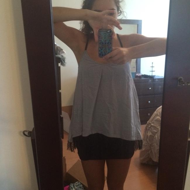 Ella Moss Top Grey