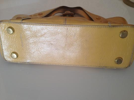 Maxx New York Satchel in Yellow