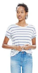 Madewell T Shirt White/blue