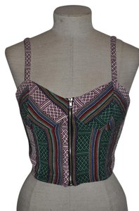 TCEC Nasty Gal Woven Festival Top