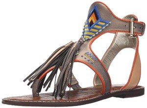Sam Edelman Paul Smith Bohemian Bronze multi Sandals