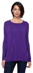 Eileen Fisher Jersey Tunic Viscose Boxy Sweater