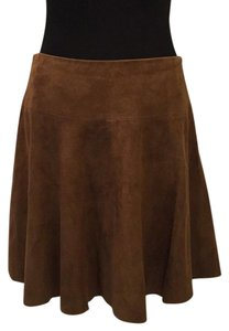 Ralph Lauren Blue Label Mini Skirt Brown