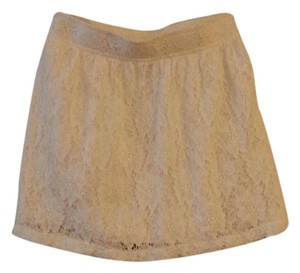 Frenchi Mini Skirt White