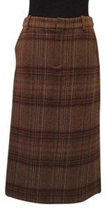Ralph Lauren Blue Label Skirt Brown multi
