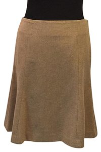 Ralph Lauren Blue Label Mini Skirt Tan