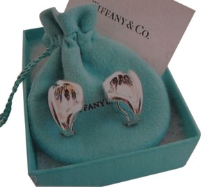 Tiffany & Co. Tiffany & Co Silver Elsa Peretti Sterling Silver Calla Lily Clip Earrings
