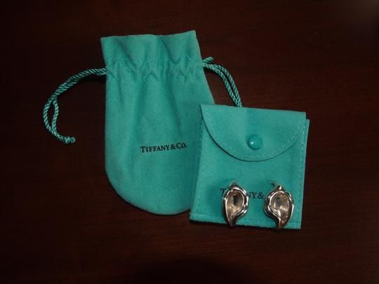 Tiffany & Co. Tiffany & Co Sterling Silver Elsa Peretti Calla Lily Clip Earrings