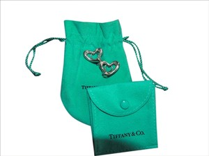 Tiffany & Co. Tiffany & Co Elsa Peretti Sterling Silver Open Heart Earrings