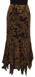 Ralph Lauren Blue Label Maxi Skirt Brown multi