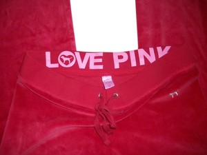 Victoria's Secret Wide Leg Pants Valentine Red