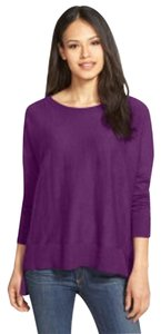 Eileen Fisher Bateau Fair Trade Boxy Cotton Sweater