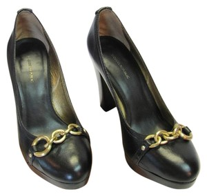 Banana Republic Leather Size 8.50 M Very Good Condition Black Pumps