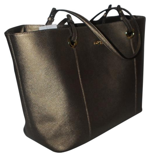 Preload https://item2.tradesy.com/images/calvin-klein-h2ra1024-aqz-anq-brz-metallic-leather-tote-1773641-0-0.jpg?width=440&height=440