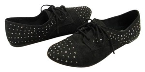 Faded Glory New Size 7.00 M Black Flats