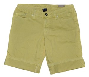 Other Bermuda Vacation Casual Cuffed Shorts Yellow