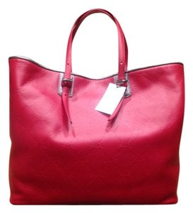 Longchamp Leather Luxury Tote in Fire