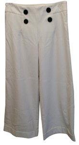 Victoria's Secret Flare Pants White Cuffed