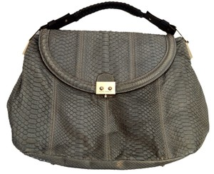 Pauric Sweeney Satchel in Gray / Black