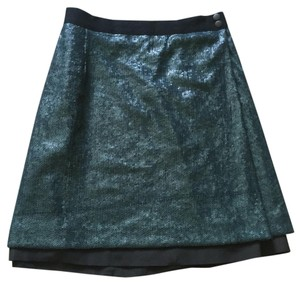 Robert Rodriguez Mini Skirt Blue
