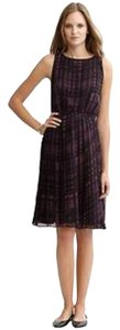 Banana Republic Pleated Vineyard Sleeveless Dress