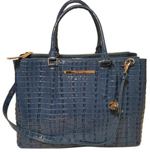 Brahmin Satchel in SURF BLUE LA SCALA
