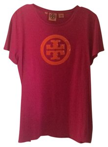 Tory Burch T Shirt Fuchsia/Orange