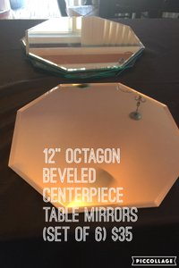 Mirror Centerpiece/table Decor