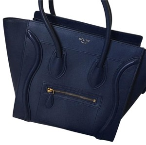 Céline Tote in Dark Blue