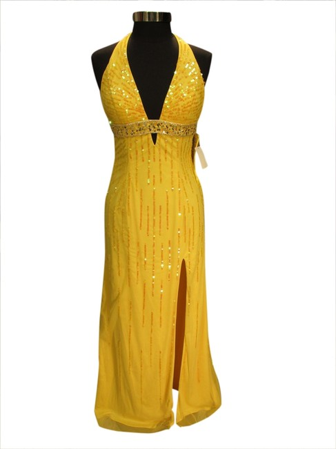 Preload https://item5.tradesy.com/images/sean-collection-yellow-8898-misc-20s-long-formal-dress-size-10-m-1773804-0-0.jpg?width=400&height=650