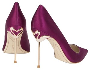 Sophia Webster Purple Pumps