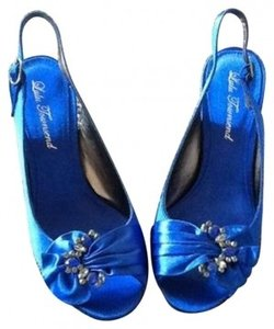 Lulu Townsend Royal Blue Pumps