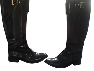 Tory Burch Patent Leather Brown Boots