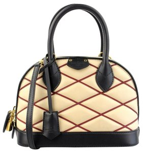 Louis Vuitton Vuitton 2015 Leather Malletage Alma Shoulder Bag