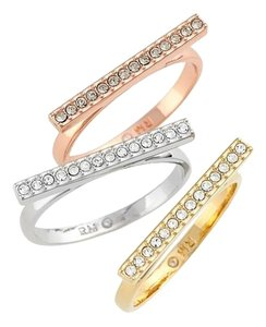 Rebecca Minkoff Stacking Rings(Set of 3)