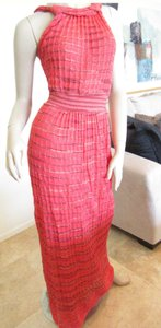 Red Maxi Dress by Missoni Long Maxi Knit