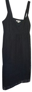 Vince short dress Black Sleeveless on Tradesy