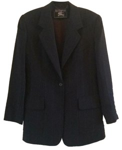 Burberry Dark navy with pinstripes Blazer
