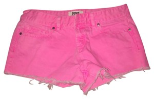 PINK Cut Off Shorts Pink