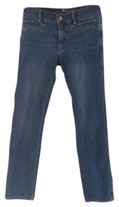 MiH Jeans Denim Straight Leg Jeans-Medium Wash