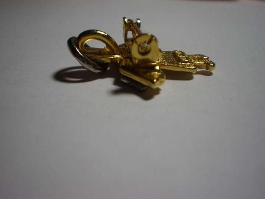 D.M. Vintage Gold & silver angel pendant/pin brooch